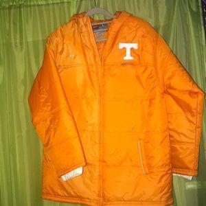 Tennessee Volunteers Nike Puffer Coat
